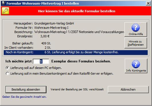 Neuer PC? - Ratiofill Formularmanager